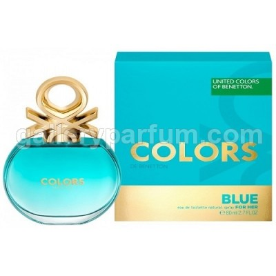 Benetton United Colors Blue For Women EDT 80ml